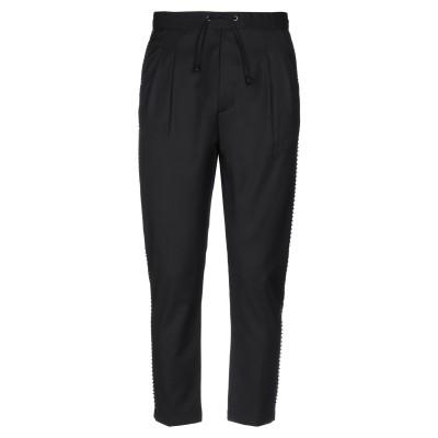 メッサジェリエ MESSAGERIE パンツ ブラック 44 ポリエステル 70% / レーヨン 28% / ポリウレタン 2% パンツ