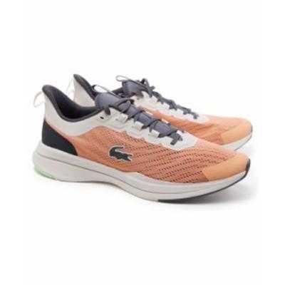 ラコステ メンズ スニーカー シューズ Men's Run Spin 0721 1 Sneakers Pink/ Dark Grey