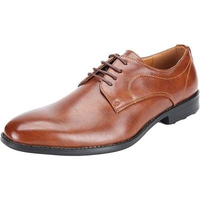 ビジネスシューズ 革靴 紳士靴 会社 オフィス 通勤 軽量 メンズ 26.0cm(ブラウン, 26.0 cm)