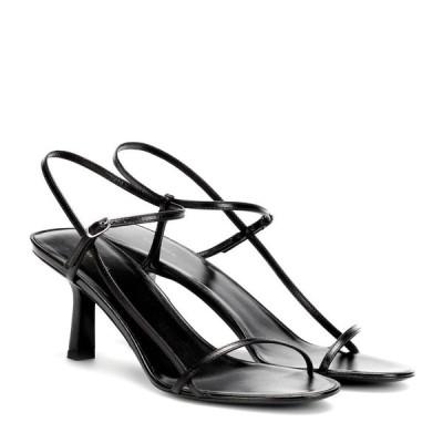 ザ ロウ The Row レディース サンダル・ミュール シューズ・靴 bare leather sandals Black