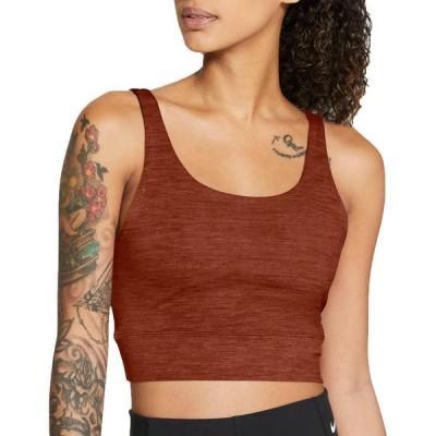 ナイキ レディース シャツ トップス Nike Women's Luxe Cropped Novelty Tank Top