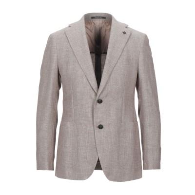 タリアトーレ TAGLIATORE テーラードジャケット ライトブラウン 48 コットン 66% / リネン 34% テーラードジャケット