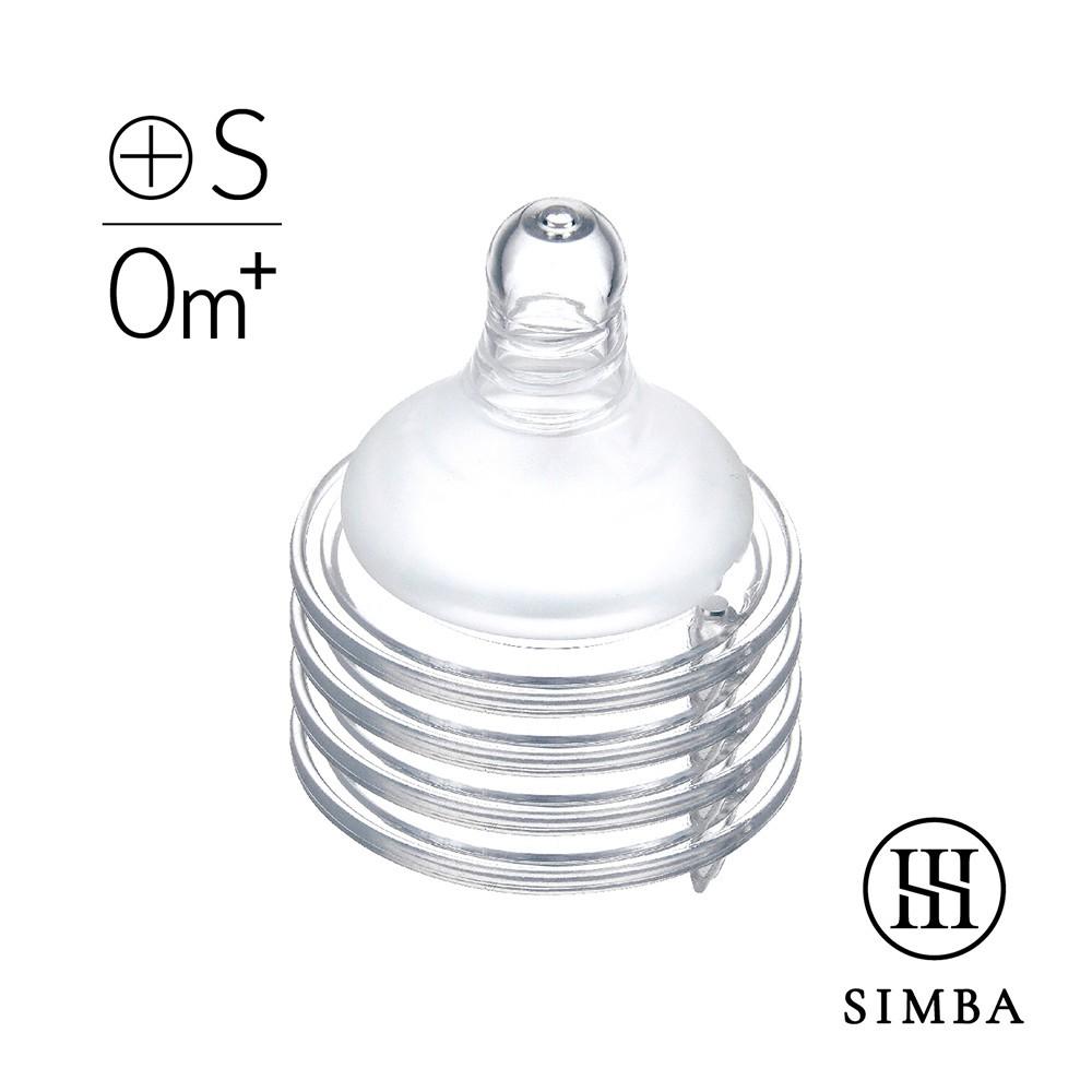 小獅王辛巴 超柔防脹氣寬口十字奶嘴4入(S/M/L/XL)