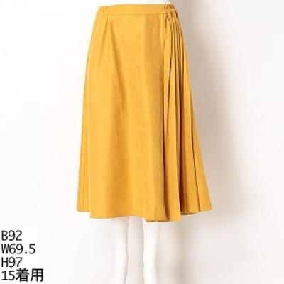 グリーンノート(大きいサイズ)(greennout)/【13号~19号】ライスコールコーデュロイ スカート【大きいサイズレディース】