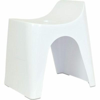HUBATH バススツール/h30 ホワイト HU-W(1個)[風呂イス]