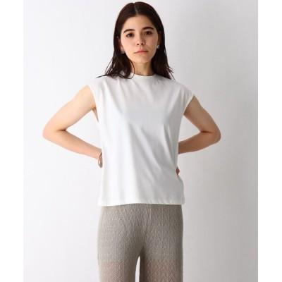 OPAQUE.CLIP / コットン混バックデザインT WOMEN トップス > Tシャツ/カットソー