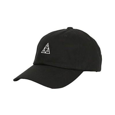 ハフ キャップ HUF CV 6PANEL CAP ESSENTIALS TT メンズ 帽子 人気 ブランド ストリート ファッション ブラック 黒 [並行?