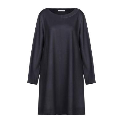 ファビアナフィリッピ FABIANA FILIPPI ミニワンピース&ドレス ダークブルー 52 ウール 100% / シルク ミニワンピース&ドレス