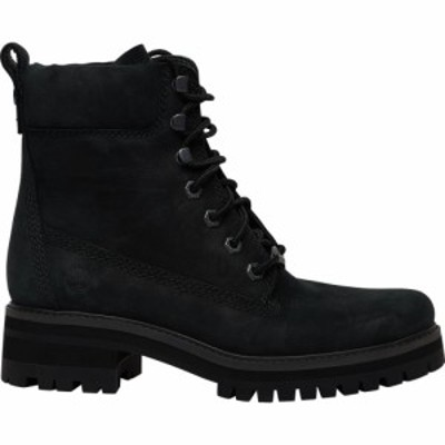 ティンバーランド Timberland レディース ブーツ シューズ・靴 Courmayeur Valley 6 Boots Black Nubuck