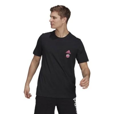 adidas アディダス クラブ カルチャー フロント&バック グラフィック 半袖Tシャツ / Club Culture Front and Back Graphic Tee 28713 GL3694 メンズスポ...