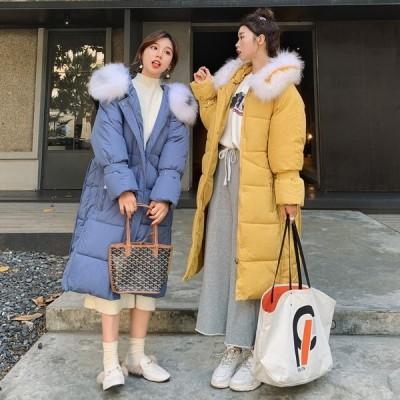 ダウンコート レディース ロングコート2019 新品  韓流 ゆったり冬アウターins アウター 防寒 中綿コート