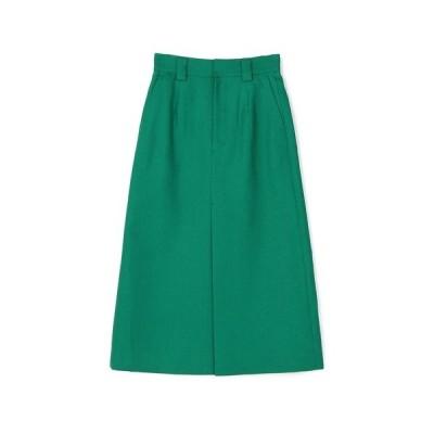 スカート ESTNATION / ブライトリネンAラインスカート