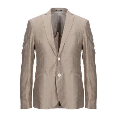 OFFICINA 36 テーラードジャケット サンド 46 麻 48% / レーヨン 41% / ナイロン 11% テーラードジャケット