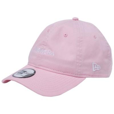 ニューエラ 930キャップ クローズストラップ ハッシュタグ ニューエラ ロゴ ピンク スノーホワイト New Era 9THIRTY Cap Cloth Strap Hash Tag New Era Logo