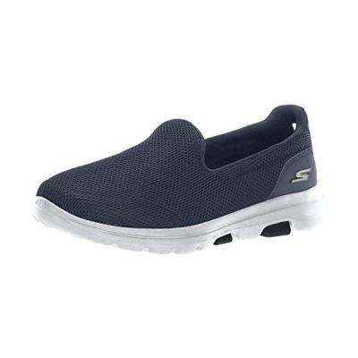Skechers (スケッチャーズ) レディース GOwalk 5-15901 スニーカー US サイズ: 7.5 Wide カラー: ブルー