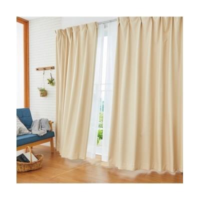 ブッチャー織遮熱・防音・1級遮光カーテン&遮熱・夕方まで見えにくい・UVカットレース4枚セット カーテン&レースセット, Curtains, sheer curtains, net curtains(ニッセン、nissen)