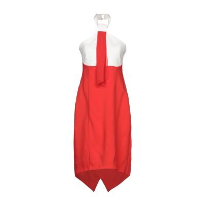 CRISTINAEFFE ミニワンピース&ドレス レッド 42 レーヨン 96% / ポリウレタン 4% / ポリエステル ミニワンピース&ドレス