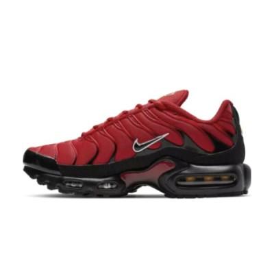 """ナイキ NIKE エア マックス プラス Air Max Plus TN """"University Red"""" Shoes Running メンズ 852630-603 Red Black White"""