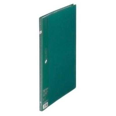 プラス(PLUS) クリアーファイル スーパーエコノミー 溶着式 A4-S 10ポケット グリーン FC-121EL 88-413