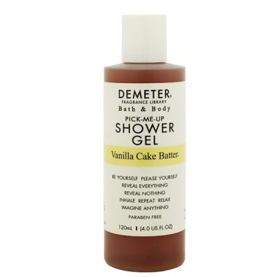 ディメーター バニラケーキ バター バス&シャワージェル 120ml DEMETER HAPPILY FOAMING FOAMING BATH & SHOWER GEL VANILLA CAKE BATTER
