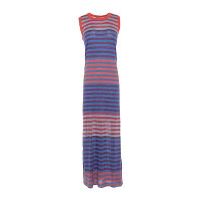 ウールリッチ WOOLRICH 7分丈ワンピース・ドレス アジュールブルー S 麻 100% 7分丈ワンピース・ドレス