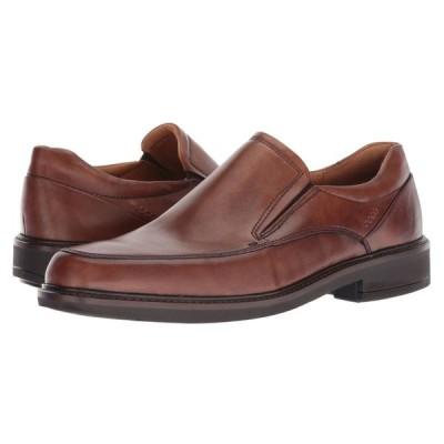 エコー ECCO メンズ スリッポン・フラット シューズ・靴 Holton Apron Toe Slip-On Amber