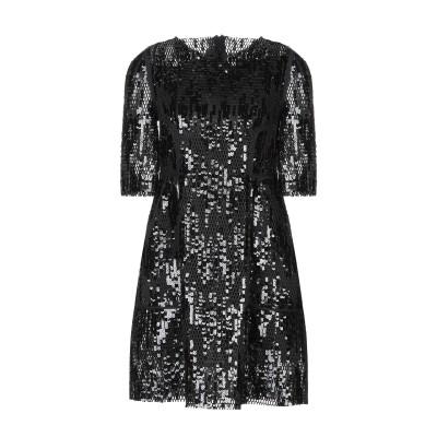 TALBOT RUNHOF ミニワンピース&ドレス ブラック 36 ポリエステル 100% ミニワンピース&ドレス