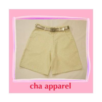 Summer Yellow Short Pants002