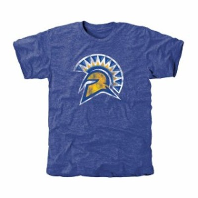 Fanatics Branded ファナティクス ブランド スポーツ用品  San Jose State Spartans Classic Primary Tri-Blend T-Shirt - Royal Blue