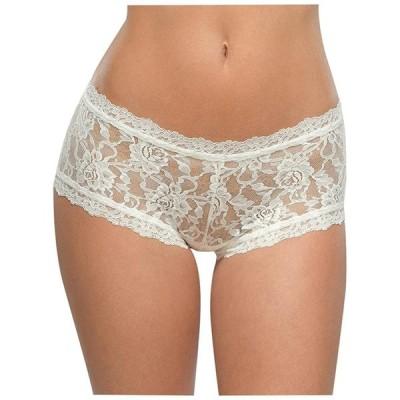 Hanky PankyレディースSignature Lace Boyshort Panty US アイボリー (M)