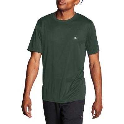 チャンピオン シャツ トップス メンズ Champion Men's Tech T-Shirt Dark Green