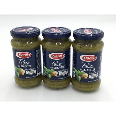 Barilla バリラ パスタソース ジェノベーゼ 190g 3本セット masters of pasta #14320