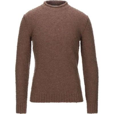 カングラ カシミア KANGRA CASHMERE メンズ ニット・セーター トップス turtleneck Brown