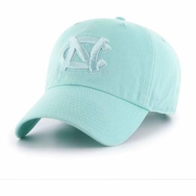 フォーティセブン 47 メンズ キャップ 帽子 North Carolina Tar Heels Carolina Blue Clean Up Adjustable Hat