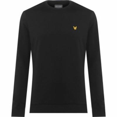 ライル アンド スコット Lyle and Scott メンズ スウェット・トレーナー トップス Crew Sweatshirt True Black