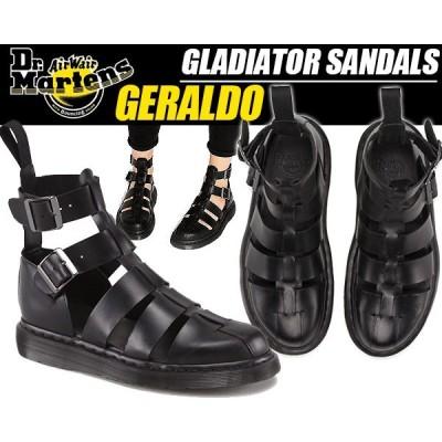 Dr.Martens GERALDO GLADIATOR SANDAL BLACK 15696001 ドクターマーチン ジェラルド グラディエーター サンダル ストラップサンダル レディース ブラック