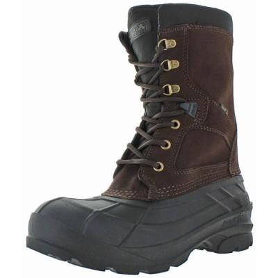 ブーツ カミク Kamik Nationwide Men's Waterproof Duck Snow Boots Leather