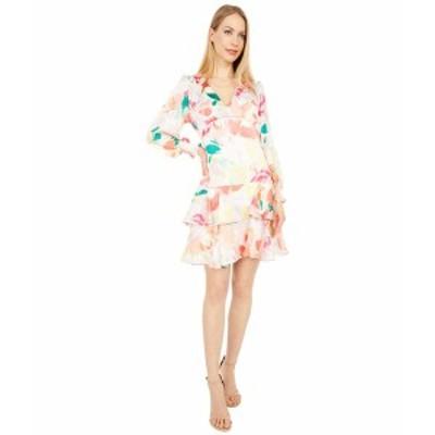 ランドリーバイシェリーシーガル レディース ワンピース トップス V-Neck Babydoll Dress Nude Multi
