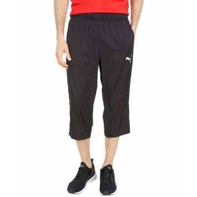 プーマ カジュアルパンツ ボトムス メンズ Active Woven 3/4 Pants PUMA Black