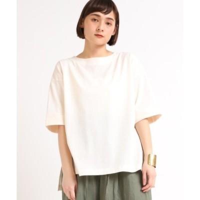 tシャツ Tシャツ M1655 カットサッカーボートネックP/O