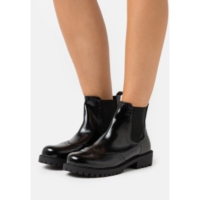 ヴェロモーダ ブーツ&レインブーツ レディース シューズ VMGLORIATHEA BOOT - Classic ankle boots - black