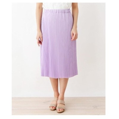 ITS' DEMO(イッツデモ)ジョーゼットプリーツスカート