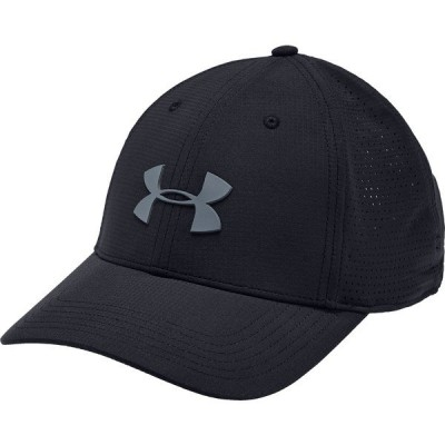 アンダーアーマー 帽子 アクセサリー メンズ Under Armour Men's Driver 3.0 Golf Hat Black/PitchGray