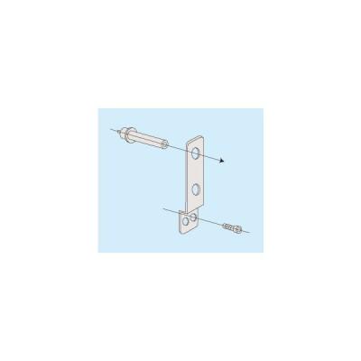 【直送品】 サカエ ステンレス(ラック/保管庫) オプション固定金具(壁タイプ) SU-WSK (644601)