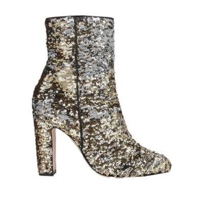 PARIS TEXAS ショートブーツ  レディースファッション  レディースシューズ  ブーツ  その他ブーツ ゴールド