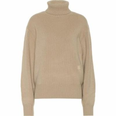 クロエ Chloe レディース ニット・セーター トップス cashmere turtleneck sweater Dune Brown