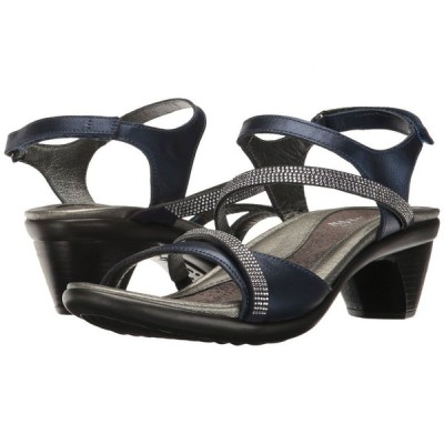 ナオト Naot レディース ヒール シューズ・靴 Innovate Polar Sea Leather/Clear Rhinestones