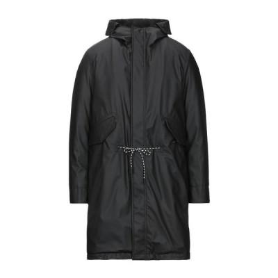 PAOLO PECORA コート ファッション  メンズファッション  コート、アウター  その他コート ブラック