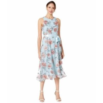 Tahari by ASL タハリバイエーエスエル ドレス 一般 Sleeveless Embroidered Halter Dress
