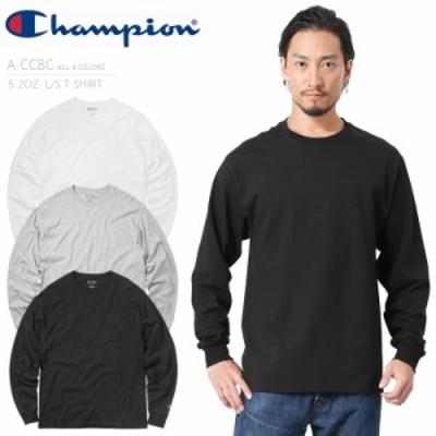 クーポンで最大3000円OFF!メンズ Tシャツ / Champion チャンピオン A-CC8C 5.2OZ ロングスリーブ Tシャツ / トップス クルーネック 長袖